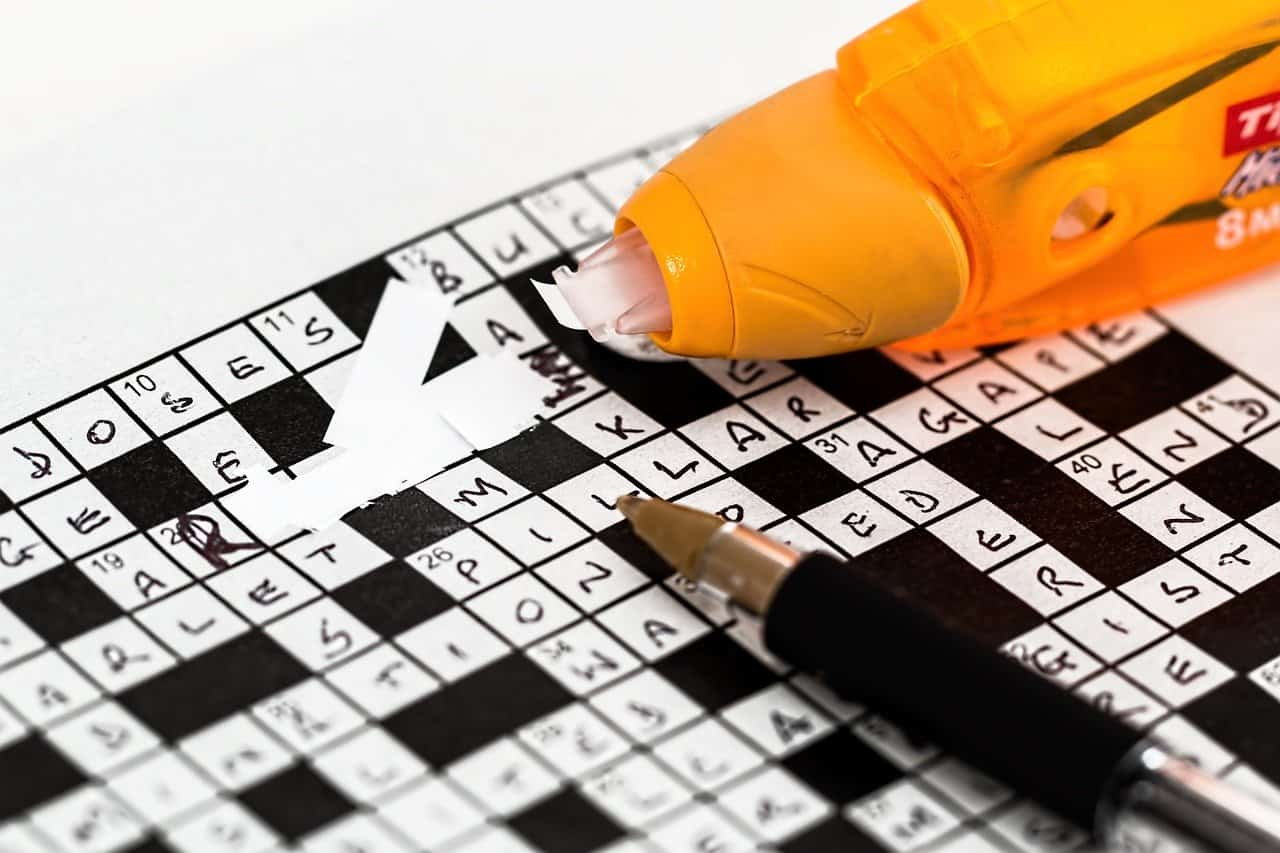 Crossword puzzle answer corrected